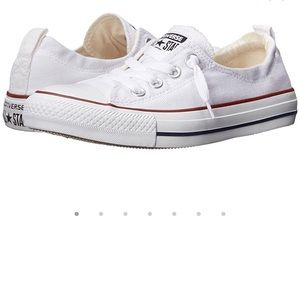 Converse All Star Cream Slip On Shoes